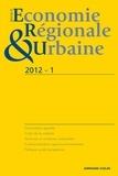 André Torre - Revue d'économie régionale et urbaine N° 1, 2012 : .