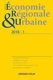 Collectif - Revue d'économie régionale et urbaine N° 1/2018 : .
