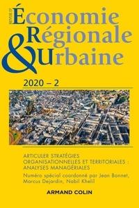 Armand Colin - Revue d'économie régionale et urbaine N° 2/2020 : Articuler stratégies organisationnelles et territoriales : analyses managériales.