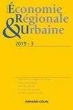 Anonyme - Revue d'économie régionale et urbaine N° 3/2019 : Varia.
