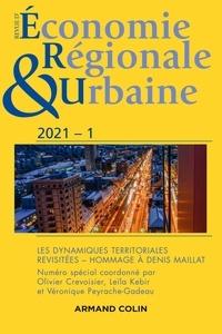 André Torre - Revue d'économie régionale et urbaine N° 3/2021 : Les dynamiques territoriales revisitées - Hommage à Denis Maillat.