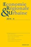 André Torre - Revue d'économie régionale et urbaine N° 4-2014 : .