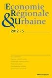 André Torre - Revue d'économie régionale et urbaine N° 5/2012 : .
