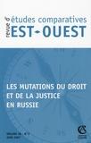 Marie-Claude Maurel et Kathy Rousselet - Revue d'études comparatives Est-Ouest Volume 38 N° 2, juin : Les mutations du droit et de la justice en Russie.