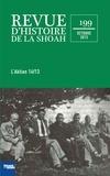 Mémorial de la Shoah - Revue d'histoire de la Shoah N° 199 : L'Aktion 14f13.