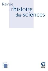 Xavier Carteret et Stéphanie Tésio - Revue d'histoire des sciences N° 65-1, janvier-jui : Naturalismes.