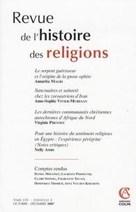 Annarita Magri - Revue de l'histoire des religions Tome 224 N° 3, Octob : .