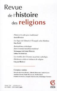 David Engels et Dan Jaffé - Revue de l'histoire des religions Tome 226 N° 4, Octob : .