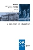 Eirick Prairat - Revue internationale d'éducation N° 81, septembre 201 : la sanction en éducation.