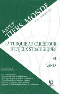 Marie-Christine Polge - Revue Tiers Monde N° 194, Avril-juin 2 : La Turquie au carrefour d'enjeux stratégiques et Varia.