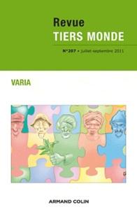Bruno Jetin et Raphaël Gutmann - Revue Tiers Monde N° 207, Juillet-sept : Varia.