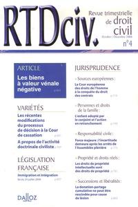 Revue trimestrielle de droit civil N° 4, Octobre-Décemb.pdf