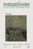 Delphine Gleizes et Jérôme Solal - Romantisme N° 126, 4e trimestre : Prisons.