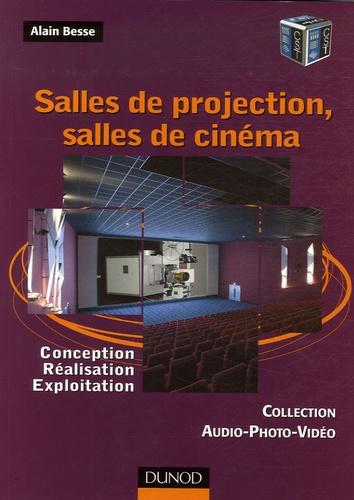 Alain Besse - Salles de projection, salles de cinéma - Conception, réalisation, exploitation.