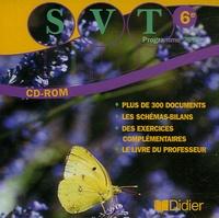 Roland Calderon - Sciences de la Vie et de la Terre 6e - CD-ROM.