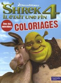 Shrek 4 Coloriages -  Hachette pdf epub