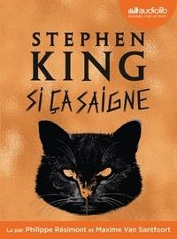 Stephen King - Si ça saigne. 2 CD audio MP3