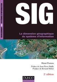 Henri Pornon - SIG - La dimension géographique du système d'information.