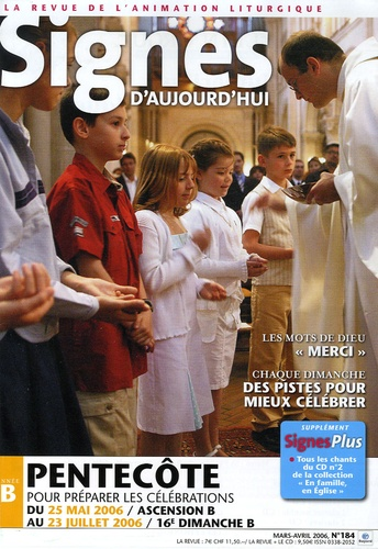 Michel Wackenheim - Signes d'aujourd'hui N° 184, Mars-Avril 2 : Pentecôte - Pour préparer les célébrations.
