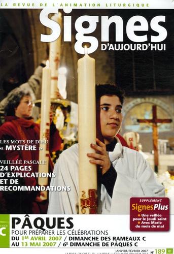 Michel Wackenheim - Signes d'aujourd'hui N° 189, Janvier-Févr : Pâques année C - Pour préparer les célébrations.