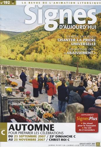 Michel Wackenheim - Signes d'aujourd'hui N° 192, Juillet-Aôut : . 1 CD audio