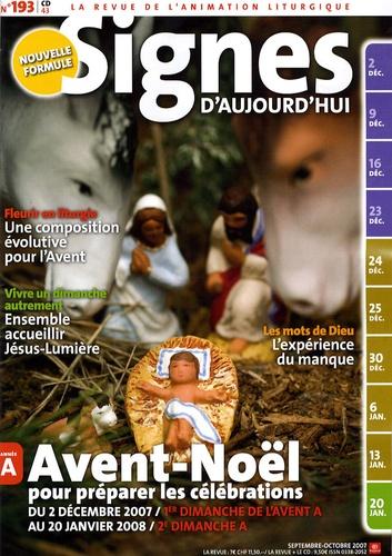 Michel Wackenheim - Signes d'aujourd'hui N° 193, Septembre-Oc : Avent-Noël.
