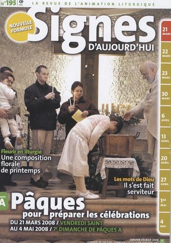 Michel Wackenheim - Signes d'aujourd'hui N° 195, Janvier-Févr : Pâques, pour préparer les célébrations.