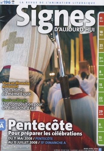 Michel Wackenheim - Signes d'aujourd'hui N° 196, Mars-Avril 2 : Pentecôte - Pour préparer les célébrations du 11 mai 2008 au 13 juillet 2008. 1 CD audio