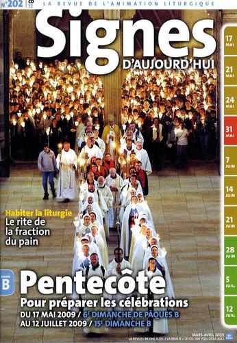 Michel Wackenheim - Signes d'aujourd'hui N° 202, Mars-avril 2 : Pentecôte - Pour préparer les célébrations du 17 mai 2009 au 12 juillet 2009. 1 CD audio