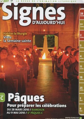 Michel Wackenheim - Signes d'aujourd'hui N° 207, Janvier-févr : Pâques - Pour préparer les célébration, année C. 1 CD audio