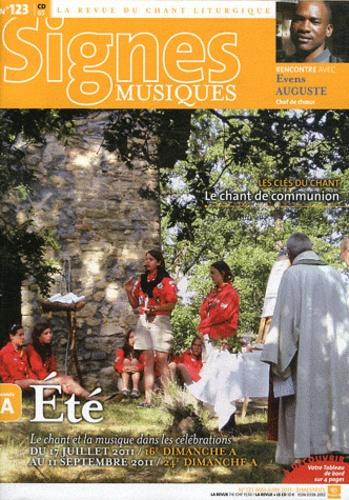 Dominique Pierre - Signes musiques N° 123, mai-juin 201 : Eté : Le chant et la musique dans les célébrations.
