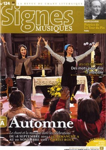 Dominique Pierre - Signes musiques N° 124, juillet-août : Automne.