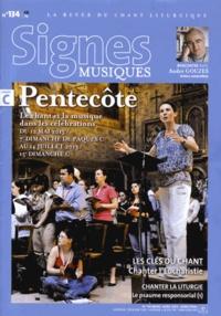 André Gouzes et Dominique Pierre - Signes musiques N° 134 mars-avril 20 : Pentecôte.