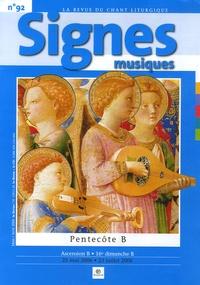 Bruno Frappat - Signes musiques N° 92, Mars-Avril 20 : Pentecôte B - Ascension B, 16e dimanche B.