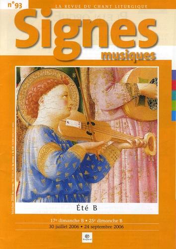 Michel Wackenheim - Signes musiques N° 93, Mai-juin 2006 : Eté B - 30 juillet 2006 - 24 septembre 2006.