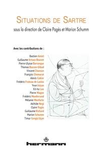 Claire Pagès et Marion Schumm - Situations de Sartre.
