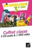 Evelyne Ledru-Germain - So English! 3e A2>B1 - Coffret classe. 1 DVD + 3 CD audio
