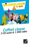 Evelyne Ledru-Germain - So English! 4e A2 - Coffret classe. 1 DVD + 3 CD audio