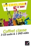 Evelyne Ledru-Germain - So English! 5e A1>A2 - Coffret classe. 1 DVD + 3 CD audio