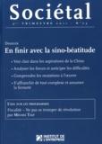 Jean-Marc Daniel - Sociétal N° 73, 3e trimestre : En finir avec la sino-béatitude.