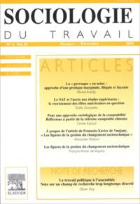 Michel Anteby et Gaële Goastellec - Sociologie du travail Volume 45 N° 4, Octo : .