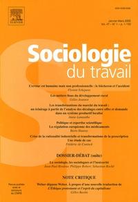 Jean-Paul Brodeur et Philippe Robert - Sociologie du travail Volume 47 N° 1, Janv : La sociologie, les sociologues et l'insécurité.
