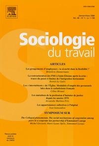 Bénédicte Zimmermann et Patrick Le Galès - Sociologie du travail Volume 48 N° 1, Janv : .