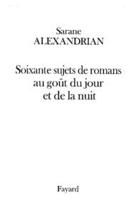 Sarane Alexandrian - .