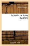 Lacaze - Souvenirs de Rome.