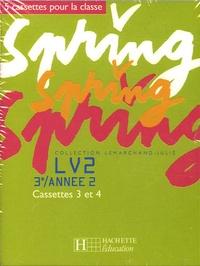 Hachette Education - Spring LV2 3e / année 2 - 5 cassettes pour la classe.