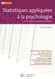 Lucile Chanquoy - Statistiques appliquées à la psychologie et aux sciences humaines et sociales.