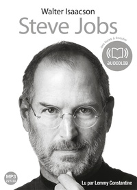 Walter Isaacson - Steve Jobs. 2 CD audio MP3