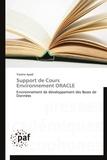 Yassine Ayadi - Support de cours environnement Oracle.
