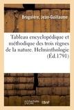 Jean-guillaume Bruguière - Tableau encyclopédique et méthodique des trois règnes de la nature.